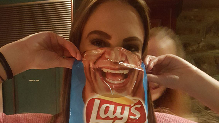 Fun with potato chips
