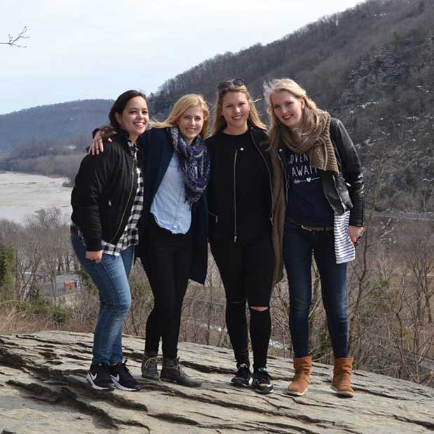 At Harpers Ferry with friends