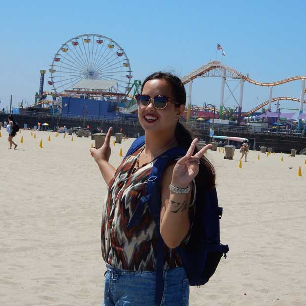 Visiting the Santa Monica Pier