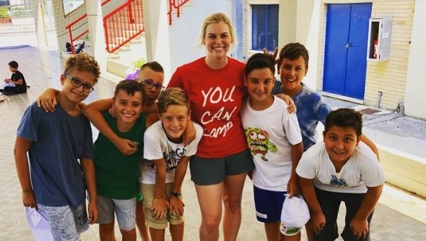 InterExchange's Summer English Camp Italy program includes an orientation and accommodation.