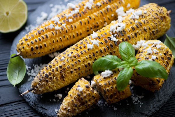 5. Grilled Corn on the Cob