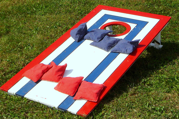 7. Cornhole Boards