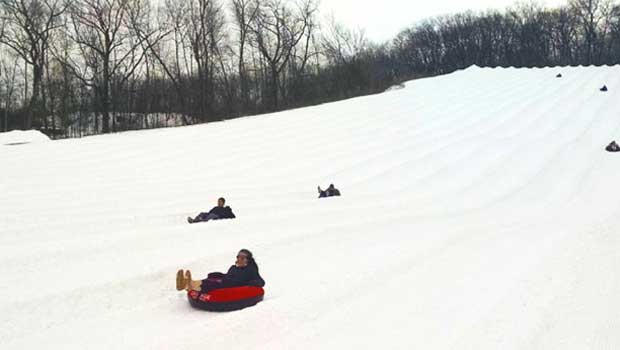 Ever been snow tubing? You can try it in Wisconsin!