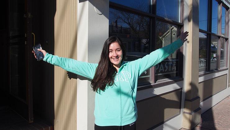Meet Carol, Chilean Student Experiencing America
