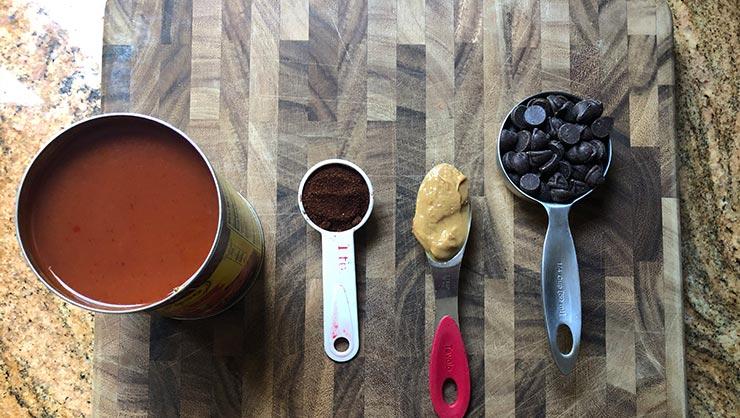 InterExchange Cooks Mole Sauce!