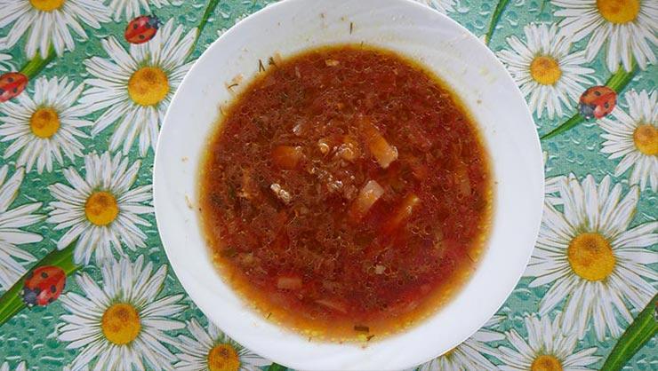 InterExchange Cooks Borscht!