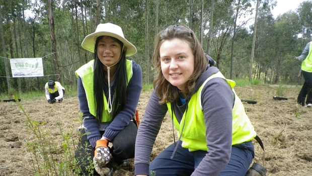 Conservation volunteers in Australia.