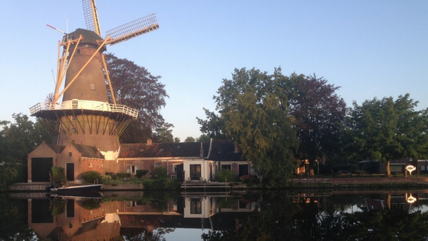 Windmill on the water