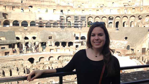 Haley in Rome