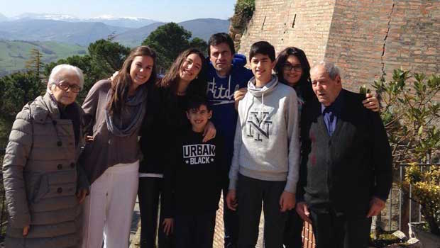 Haley learned a great deal from her Italian host family!