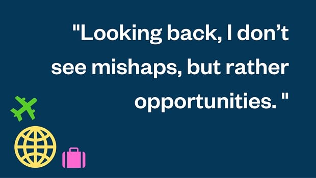Looking back I dont see mishaps but rather opportunities