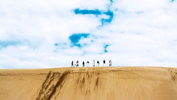 You'll love sandboarding at Te Paki Stream!