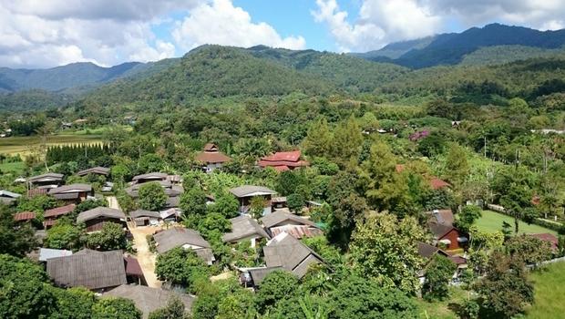 Views of rural Thailand.