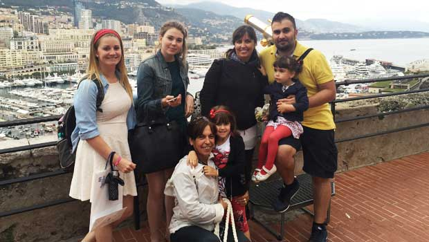 Bonding With my Italian Host Families