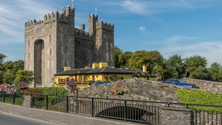 Bunratty Castle is a 15th century tower house