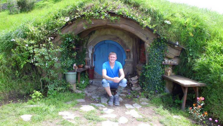 Find work at tourist attractions such as Hobbiton