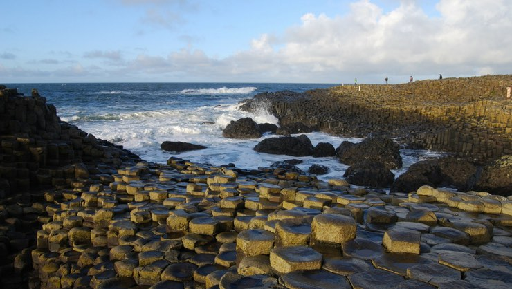 The Giant's Causeway is a World Heritage Site