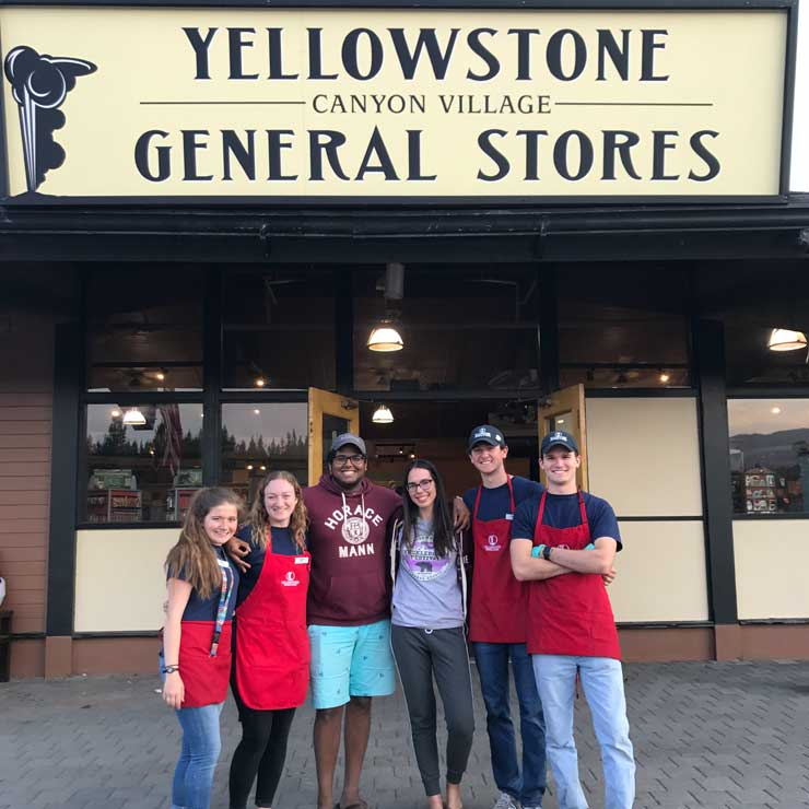 Everyone at Yellowstone General became like family.