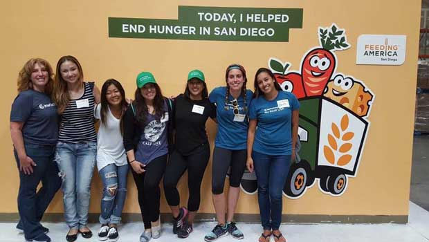 InterExchange Au Pair USA San Diego Supports Feeding America