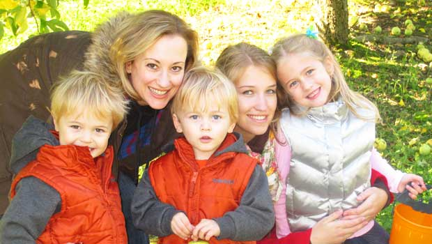 An au pair is there to care for your children.