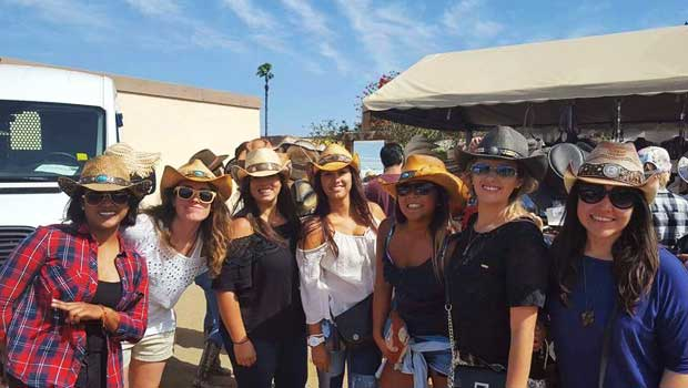 Suzanne and friends hang out at the rodeo!