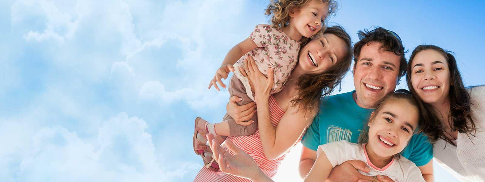 Au pair caring for children