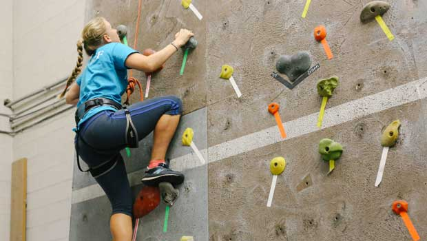 Au Pair USA Fairfield County Cluster Goes Rock Wall Climbing