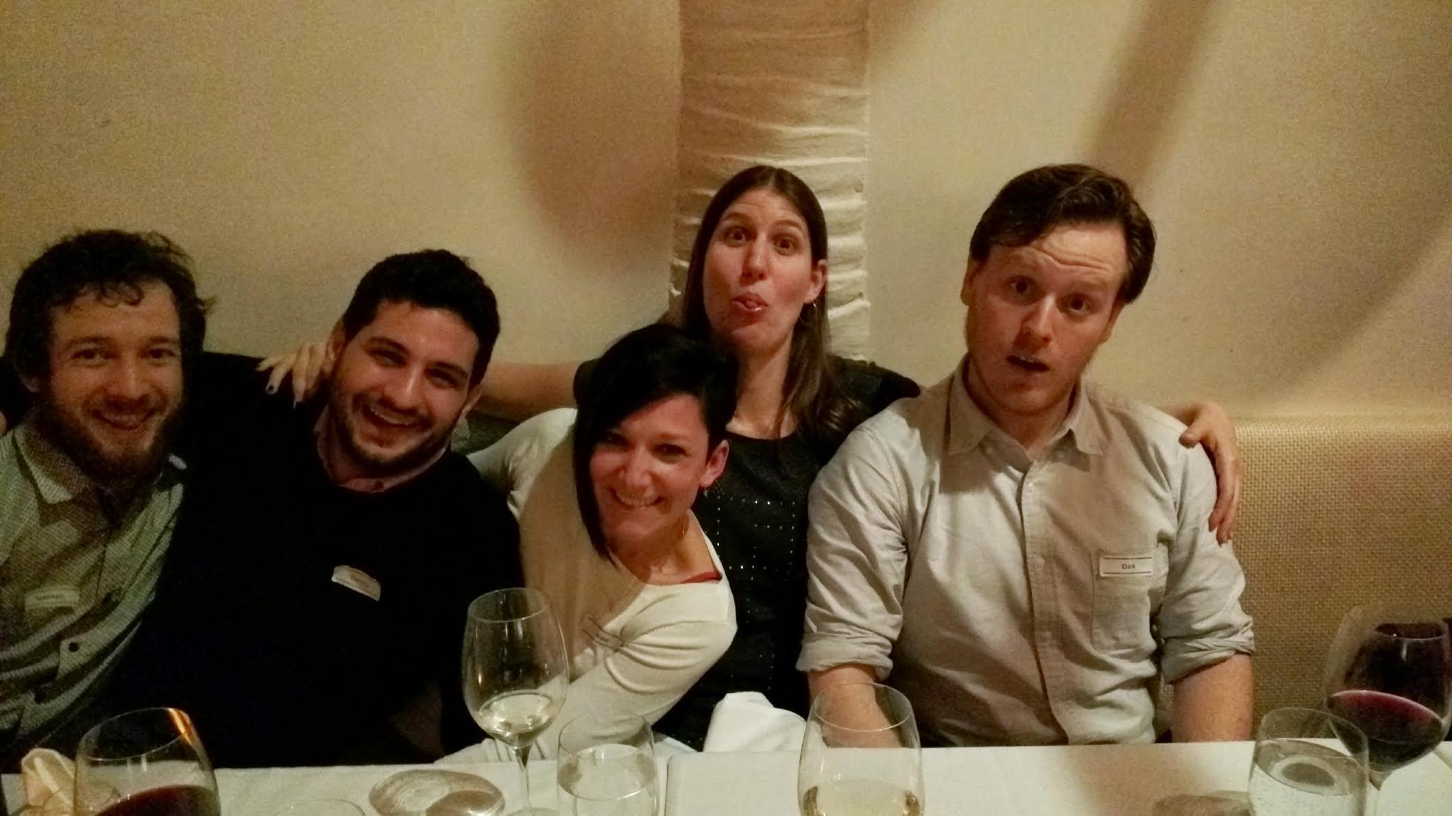 Nathan, Alex, Luc, Nicole, Dirk