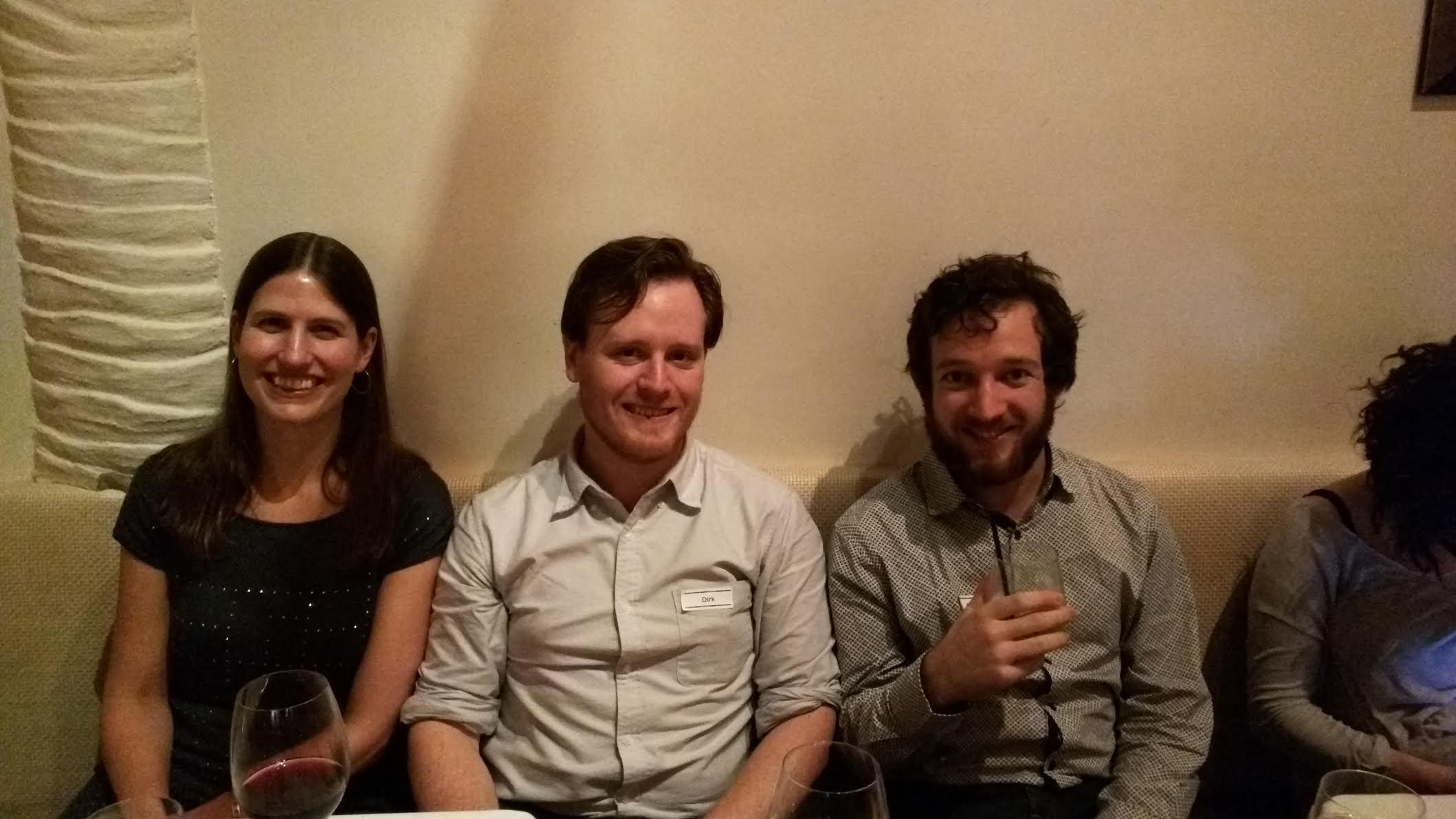 Nicole, Dirk, Nathan