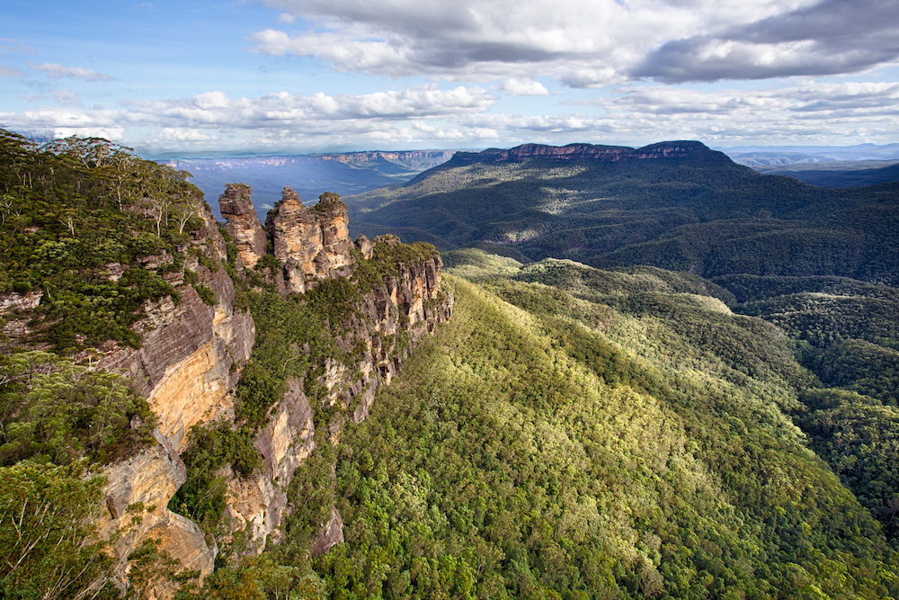 Explore the Three Sisters Blue Mountains in New South Wales, Australia.