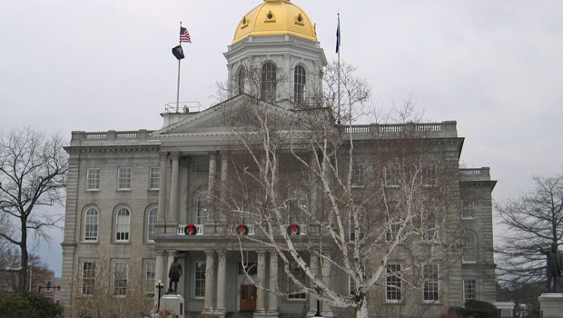 Concord, New Hampshire state house