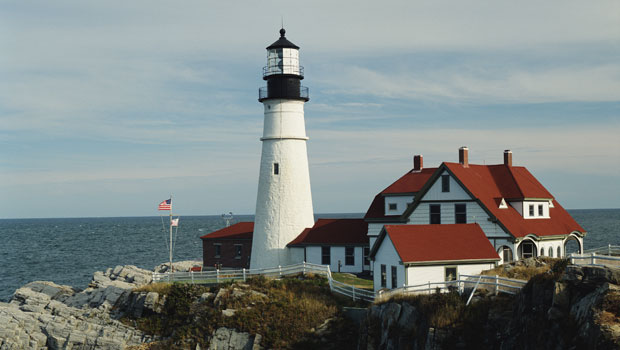 Portland Head Light Station, Cape Elizabeth, Maine
