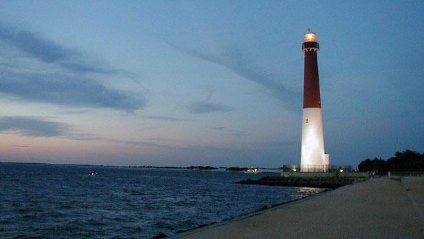 Barnegat Lighthouse in Long Beach Island, New Jersey