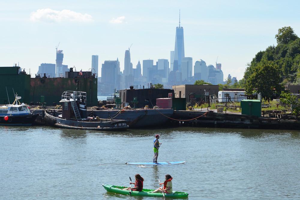 Standing Kayak