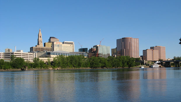 Skyline of Hartford, Connecticut