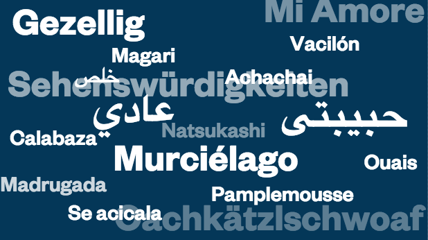 17 Favorite Words from Around the World
