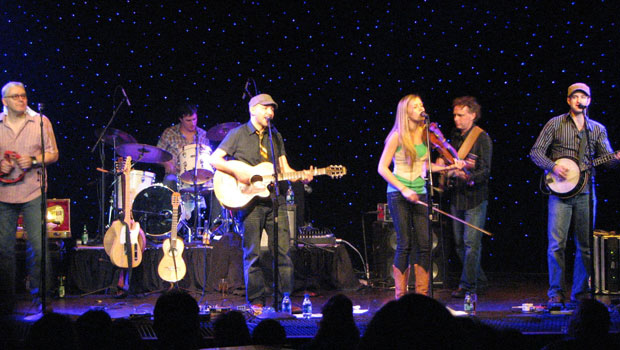 The Paperboys performing at the Triple Door in Seattle