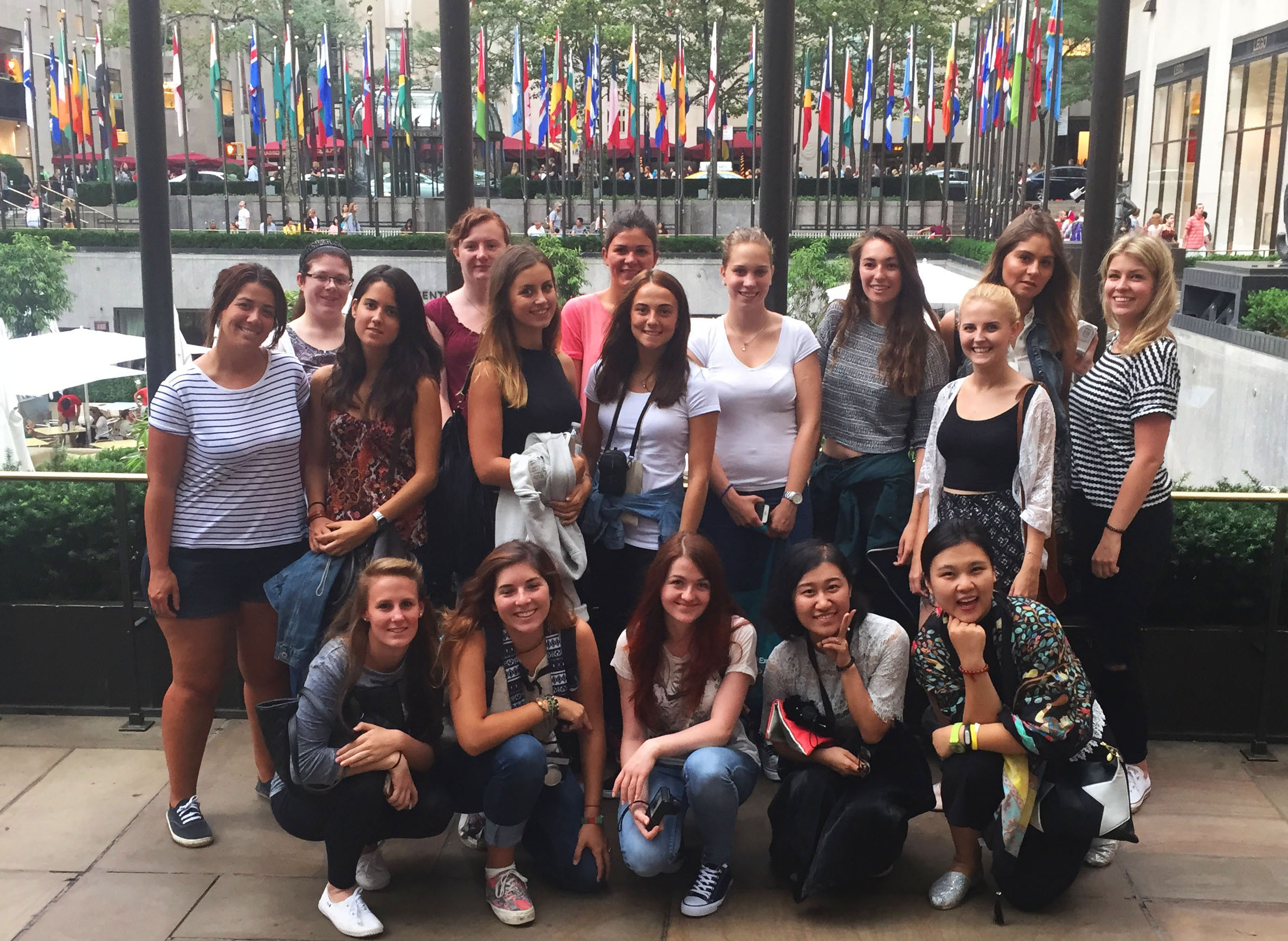 Au Pairs Take On Manhattan!