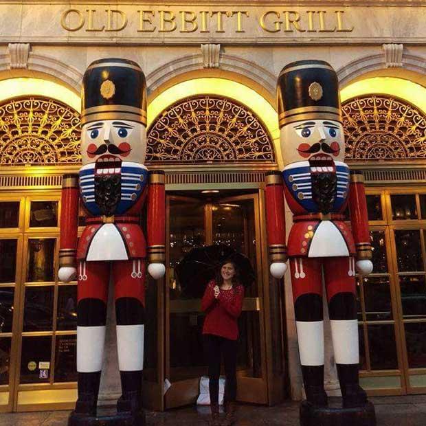 Danielle visits D.C.
