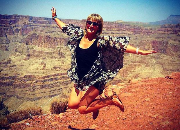 Anemone visited the Grand Canyon!