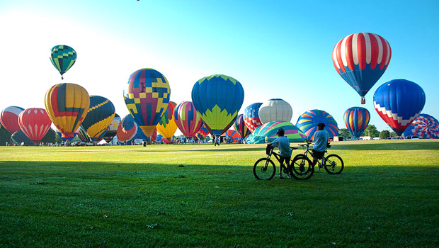 Alabama Jubilee Hot Air Balloon Classic in Decatur, Alabama