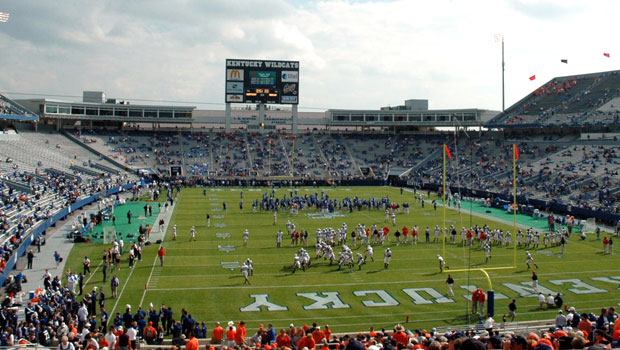 University of Kentucky's Commonwealth Stadium in Lexington