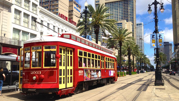 Canal Streetcar in New Orleans, Louisiana