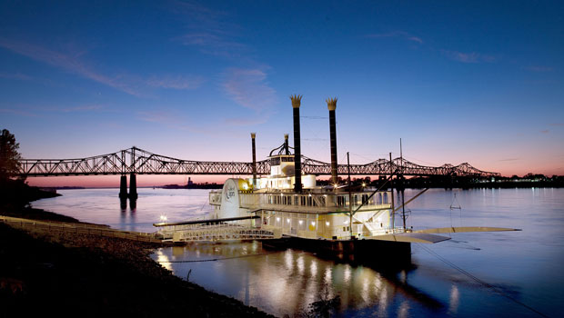 Casino Boat on the Mississippi River