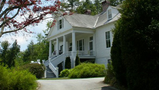 Carl Sandburg house in Flat Rock