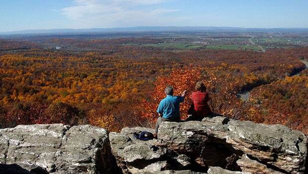 The Shenandoah Valley in the autumn