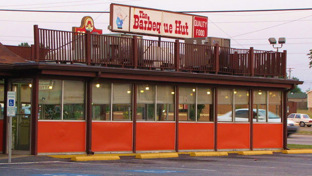 The BBQ Hut in Fayetteville