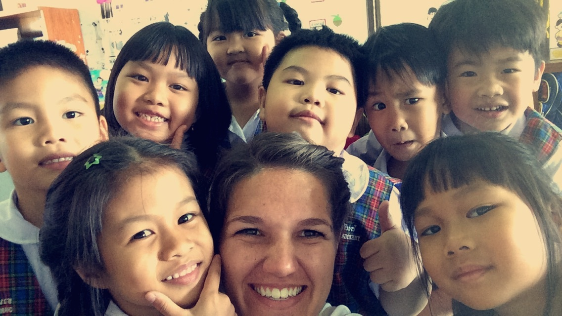 Teaching English in Thailand.
