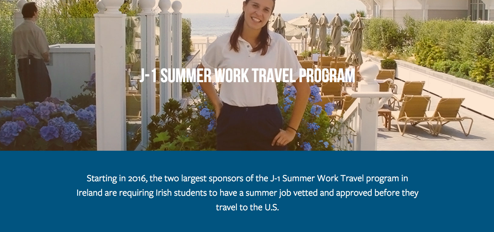U.S. Ambassador to Ireland Promotes J-1 Work Travel Program