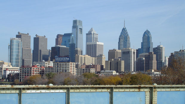 Skyline of Center City, Philadelphia